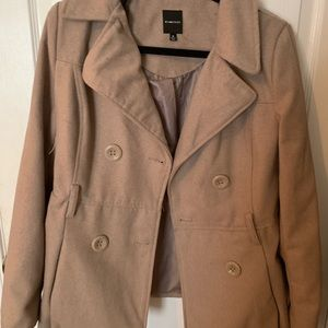 RAMPAGE TRENCH COAT TAN